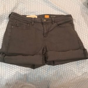 Gray Denim Anthropologie shorts